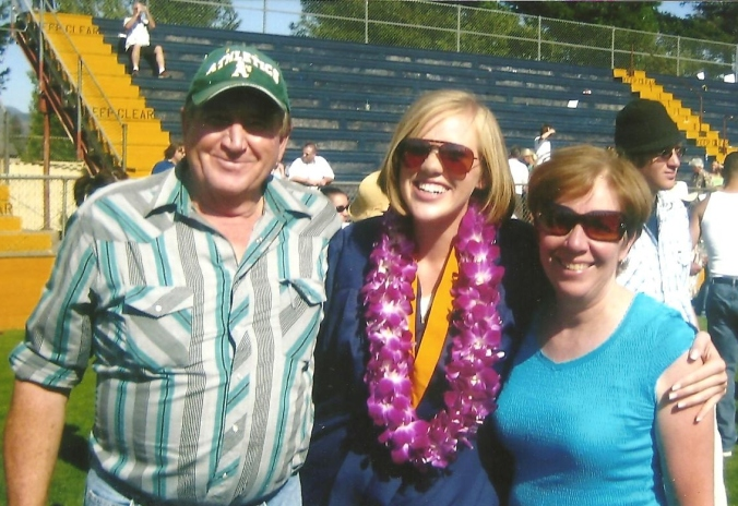 Logan's high school graduation